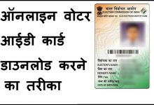 How to download digital voter id card online pdf details in Hindi
