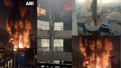 breaking news maharashtra fire news, dreams the mall hospital fire news in hindi,pune fashion street market fire updates in hindi,आग की ख़बरें